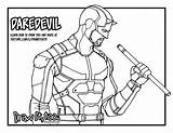 Daredevil Netflix Drawing Draw Coloring Drawittoo Season Too Tutorial Getdrawings Downloaded Intended Note Personal Please sketch template
