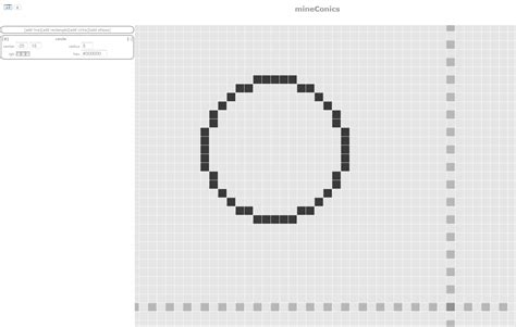 Minecraft Circle Template Minecraft How To Draw A Circle In A Square World Part Ii
