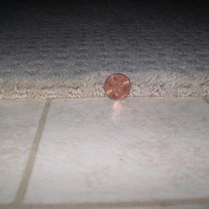 Carpet Transition Strip  Concrete