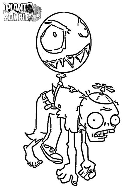 coloring pages plants  zombies coloring home