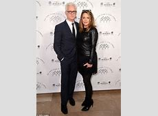 Mad Men's John Slattery looks dapper in suit with wife