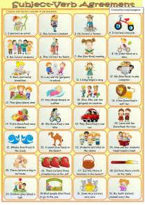 Subject Verb Agreement Answer Key