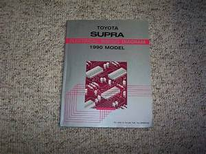 1990 Toyota Supra Electrical Wiring Diagram Manual Std