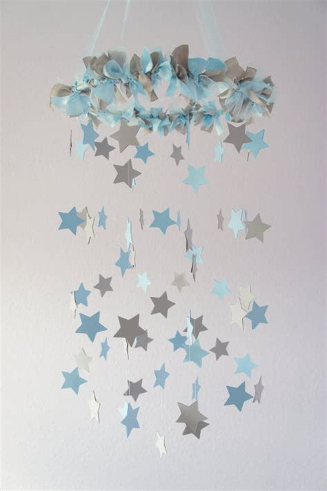 Diy Wrapping Gifts Inspiration  Nursery Mobile Stars In