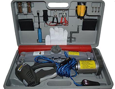 Electric Scissor Jack 12v W/ Impact Wrench 12v