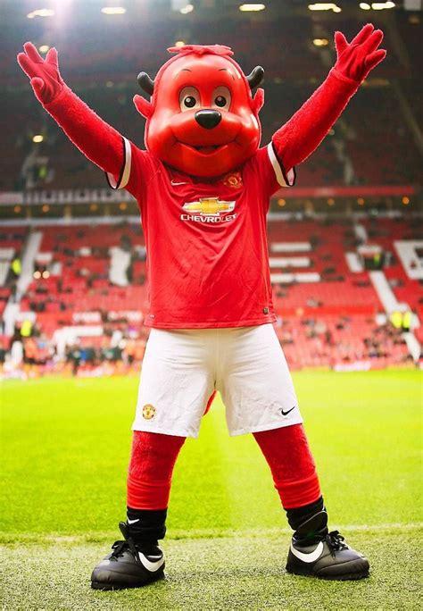 Manchester United Red Devil Mascot
