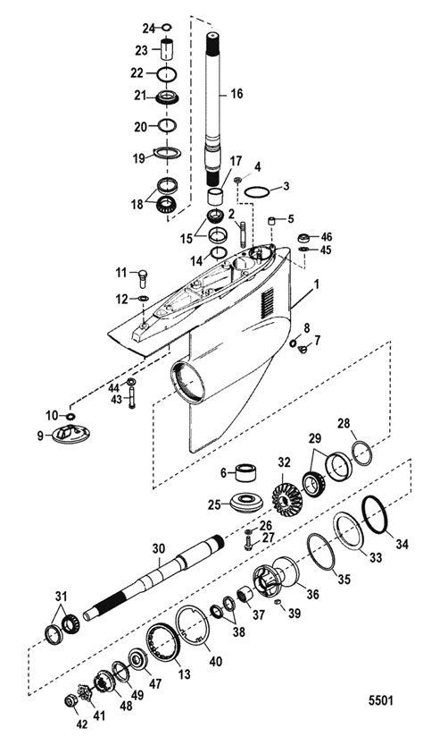 mercruiser 888 outdrive diagram