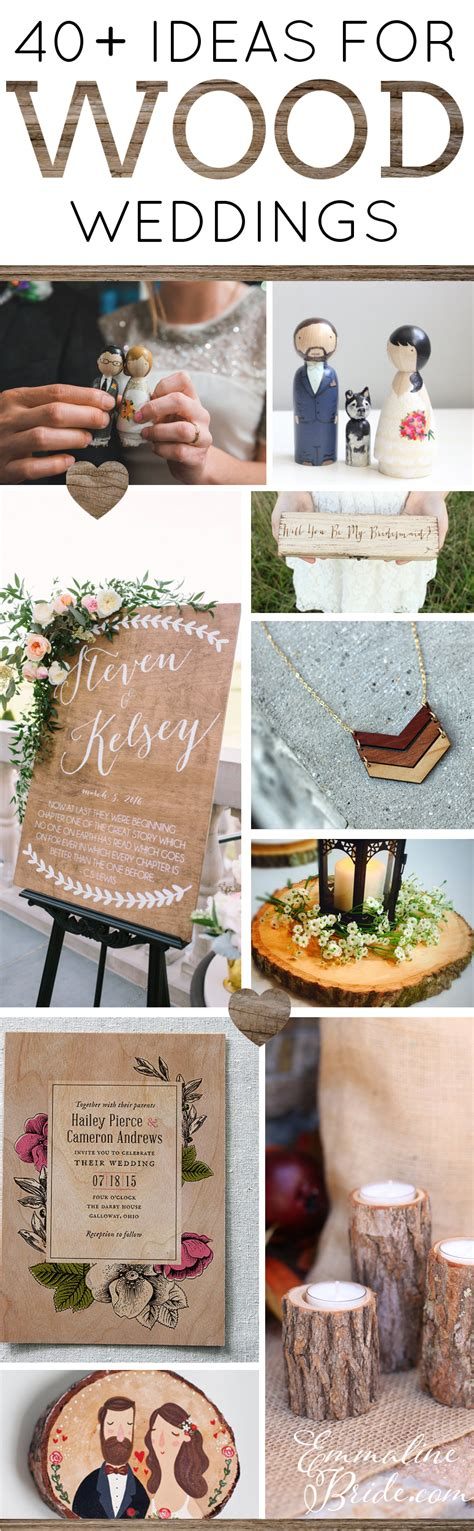 40 wood themed wedding ideas emmaline bride