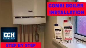How To Install A Combination Boiler Baxi Gas Combi Boiler