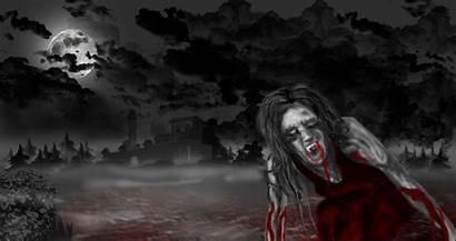 Vampire Scary Wallpapers Desktop Vampires Horror Creepy