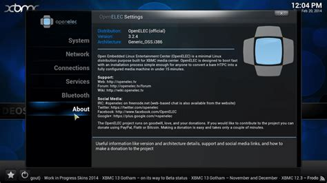 how to setup openelec with pptp protocol on vpn