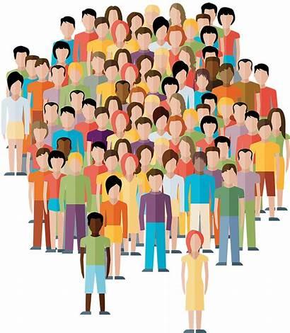Transparent Community Clipart Crowd Population Human Person