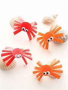 Plexiglass Mr Bricolage : diy cute sea crabs made of upcycled plastic yogurt cups ~ Melissatoandfro.com Idées de Décoration