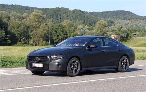 Spyshots 2018 Mercedesbenz Cls Prototype Looks