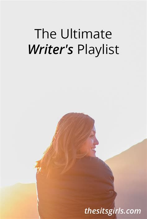 The Ultimate Writer's Playlist  Writing Inspiration