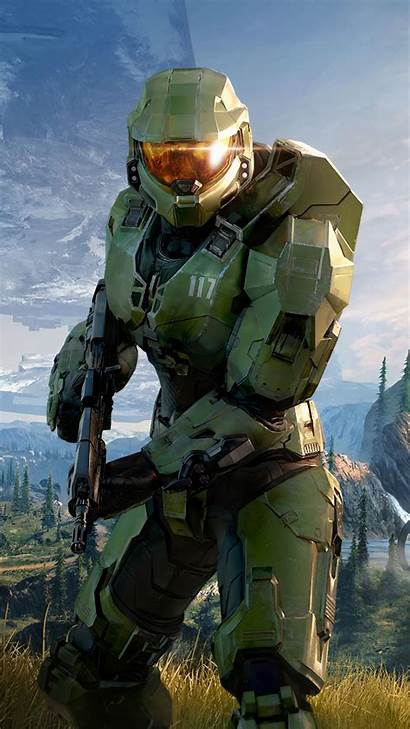 Halo Infinite Mobile Master Chief Wallpapers Games