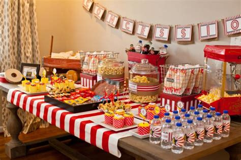 Kara's Party Ideas Vintage Movie Themed Birthday Party Via