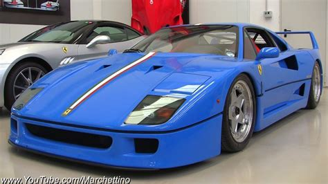 Founded by enzo ferrari in 1939 out of alfa romeo's race division as auto avio this is one of the most notorious sports cars all around the world that many people would love to have in their lifetime. Blue Ferrari F40 Tricolore - One of a kind! - YouTube