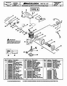 35 Mcculloch Pro Mac 10 10 Parts Diagram