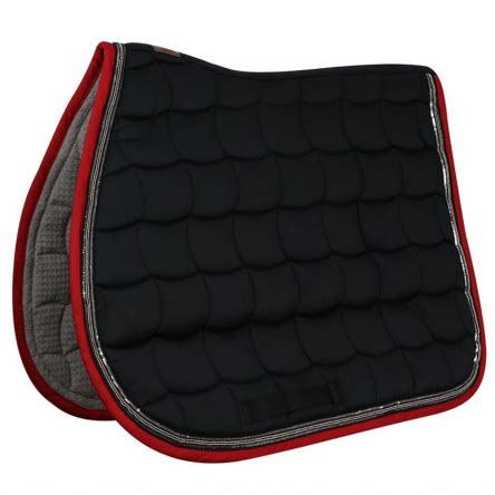tapis de selle silver harcour boutique equitation