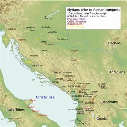 Wikipedia Illyria Illyrian Tribes