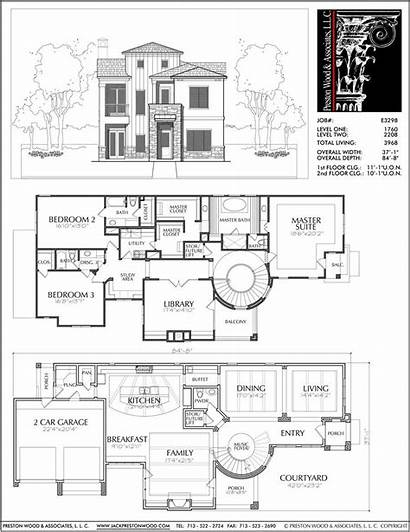 Story Plan Plans Floor Residential Blueprint Layout
