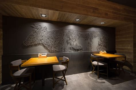 the restaurant interior design grits grids