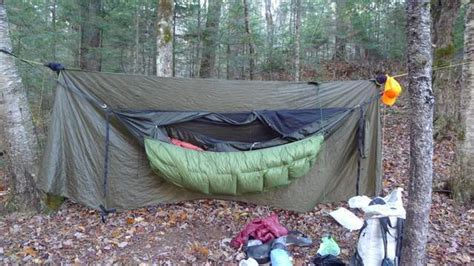 How To Hammock by How To Sleep Warm In A Cing Hammock Section Hikers