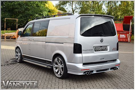 vw t6 abt abt pipe exhaust 76mm vw t5 t6 4motion vehicles vanstyle