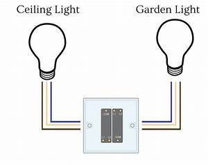 Double Gang Light Switch