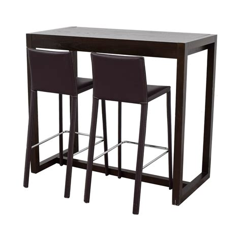 west elm bar table 84 off west elm west elm bar table with bar stools tables