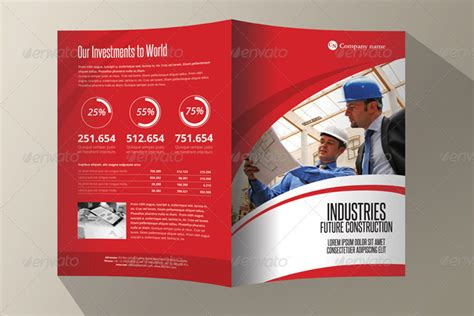 20 Single Fold Brochure Templates Single Fold Brochure Template 20 Corporate Bi Fold