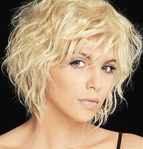 inspirations  short wavy hairstyles  fine hair