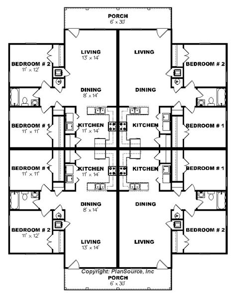apartment plan    plex plansource