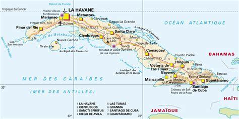 Carte Du Monde Cuba by Cuba Carte 183 Cartes Du Monde Pays