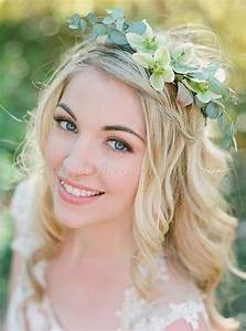 Floral Hair Pieces For Brides Floral Hair Wreath For