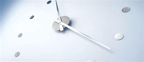Uhr Nur Zeiger by Wanduhr Radius Design