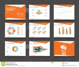 power point design orange infographic business presentation template set powerpoint template design backgrounds