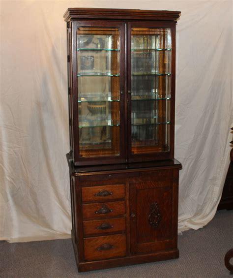 The Cabinet - bargain s antiques oak doctor s cabinet w d