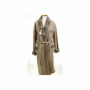 robe de chambre homme laine des pyrenees en stock chez val With robe de chambre laine des pyrénées