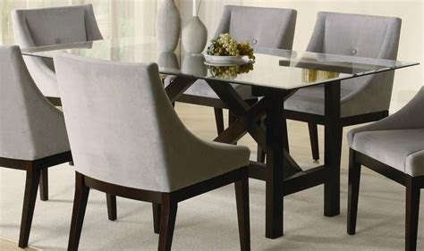 Rectangle Glass Top Dining Table  Decor Ideasdecor Ideas