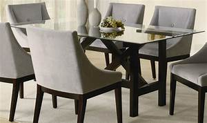 rectangle glass top dining table decor ideasdecor ideas With glass top dining room tables rectangular