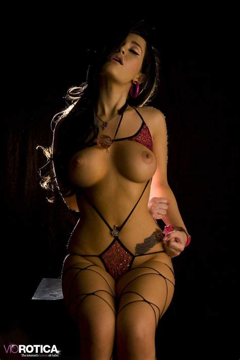 Pictures Of Viorotica Cuffed Up For Your Pleasure Coed