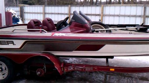 Skeeter Zx202 Boat by 2000 Skeeter Zx202 Bass Boat Repairable