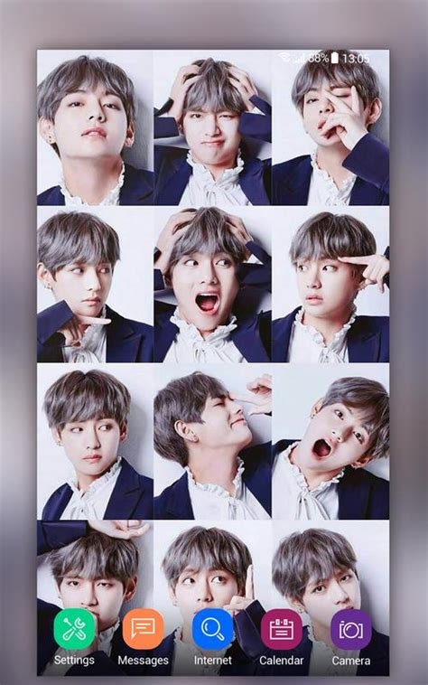Bts v computer wallpapers top free bts v computer backgrounds. BTS V Kim Taehyung Wallpapers HD 4K for Android - APK Download