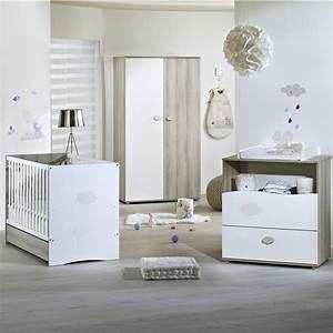 Chambre Garcon Complete : chambre b b trio nael lit commode armoire de sauthon meubles sur allob b ~ Teatrodelosmanantiales.com Idées de Décoration