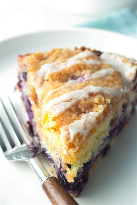 Start by preheating the oven and preparing an 8×8 baking pan. Easy Blueberry Coffee Cake - Cooking For My Soul