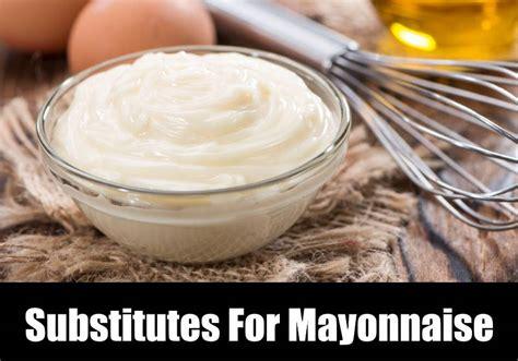 substitute  mayonnaise kitchensanity