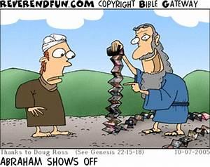"""ReverendFun.com : Cartoon for Oct 7, 2005: """"Father Abraham ..."""