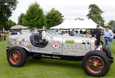auburn model   chassis information